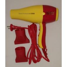 Schatz Profesyonel Fön Sarı Kırmızı 3500 2400 W