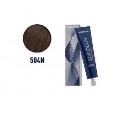 Matrix Socolor Beauty 504N Ekstra Beyaz Kapatma Kestane 90Ml