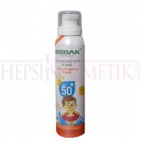 Bebak Güneş Koruyucu Köpük 50 SPF 150 ML