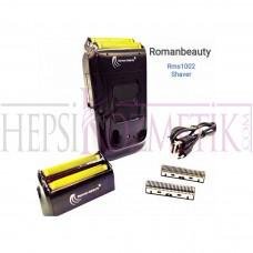 Roman Beauty Şarjı Sakal Traş Makinesi Süzgecli Rms1002