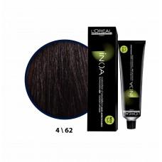 Inoa Saç Boyası C4,62 Koyu Kızıl Kestane 60 Ml