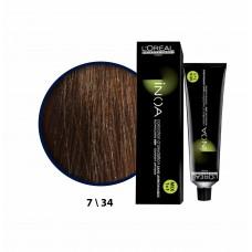 Inoa Saç Boyası 7,34 Sıcak Kahve-Sıcak Bej 60 Ml
