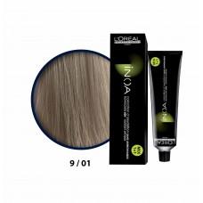 Inoa Saç Boyası 9,01 Sarı Hafif Küllü 60 Ml