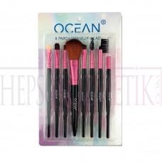 Ocean Makyaj Fırça Seti 8 Adet U842