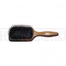 İris Ahşap Topuzsuz Saç Açma Fırçası Mini Boncuklu
