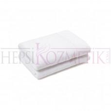 Ahfa Çift Katlı Boy Havlusu 70*140 Cm Beyaz
