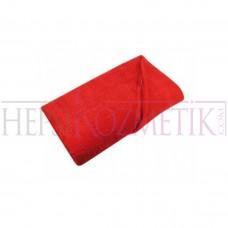Ahfa Çift Katlı Saç Havlusu 50*90 Cm Kırmızı