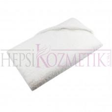 Ahfa Tek Katlı A Saç Havlusu 50*90 Cm Beyaz