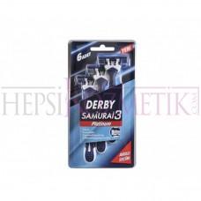 Derby Samurai 3 Platinum Jilet 6 Adet