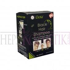 Dexe Black Hair Shampoo 10x25 Ml
