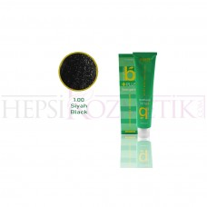 Bıorganic Plus Saç Boyası 1,00 Siyah 60 Ml