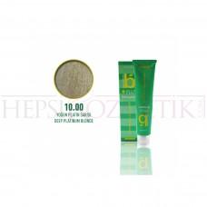 Bıorganic Plus Saç Boyası Yoğun Platin Sarısı 10,00 60 Ml
