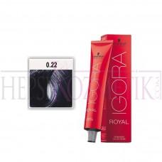 İgora Royal Saç Boyası 0.22 Turuncu Azaltıcı 60 Ml