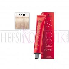 İgora Royal Absolutes Saç Boyası Özel Açıcı 12-19 60 60 Ml