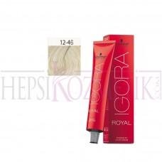 İgora Royal Absolutes Saç Boyası 12.46 Özel Açıcı Bej Çikolata 60 Ml
