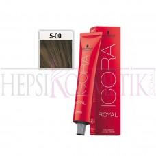 İgora Royal Absolutes Saç Boyası 5.00 Ekstra Doğal Açık Kahve 60 Ml