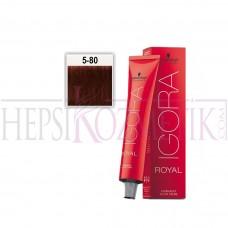 İgora Royal Absolutes Saç Boyası 5.80 Açık Kahve 60 Ml