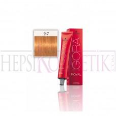 İgora Royal Saç Boyası 9.7 Sarı Bakır 60 Ml