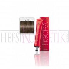 İgora Royal Absolutes Saç Boyası 7.00 Ekstra Doğal Kumral 60 Ml