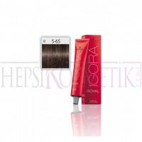 İgora Royal Saç Boyası 5.65 Açık Kahve-Çikolata Altın 60 Ml