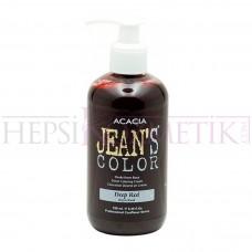 Acacia Jean's Color Koyu Kızıl Saç Boyası 250 Ml