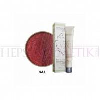Natulika Organic Saç Boyası 0.55 Yoğun Alev Kızılı Mix Ton 60 Ml