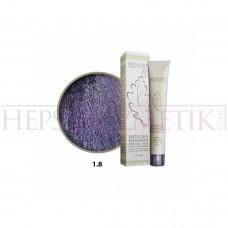 Seven Pigments Organic Saç Boyası 1.8 Viyole Siyah 60 Ml