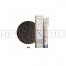 Seven Pigments Organic Saç Boyası 3.0 Koyu Kahve 60 Ml