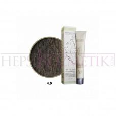 Seven Pigments Organic Saç Boyası 4.0 Orta Kahve 60 Ml