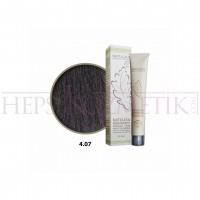 Natulika Organic Saç Boyası 4.07 Şekersiz Kahve 60 Ml