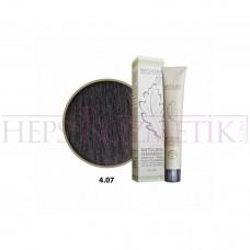 Seven Pigments Organic Saç Boyası 4.07 Şekersiz Kahve 60 Ml