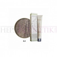 Natulika Organic Saç Boyası 4.3 Altın Kahve 60 Ml