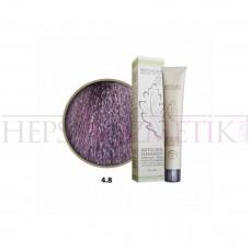 Seven Pigments Organic Saç Boyası 4.8 Orta Kestane Viyole 60 Ml