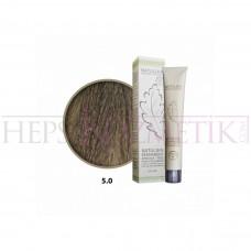 Seven Pigments Organic Saç Boyası 5.0 Açık Kahve 60 Ml