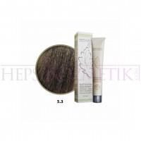 Natulika Organic Saç Boyası 5.3 Açık Altın Kahve 60 Ml