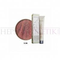 Natulika Organic Saç Boyası 5.56 Açık Kızıl Kahve 60 Ml