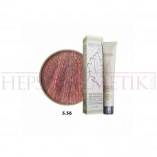 Seven Pigments Organic Saç Boyası 5.56 Açık Kızıl Kahve 60 Ml