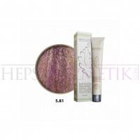 Natulika Organic Saç Boyası 5.81 Açık Viyole Kahve 60 Ml
