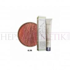 Natulika Organic Saç Boyası 6.56 Tropikal Kızıl Koyu Kumral 60 Ml