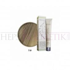 Seven Pigments(Natulika) Organic Saç Boyası 7.0 Orta Kumral 60 Ml