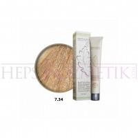 Natulika Organic Saç Boyası 7.34 Mahagoni Altın Kumral 60 Ml