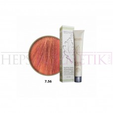 Natulika Organic Saç Boyası 7.56 Tropikal Kızıl Kumral 60 Ml