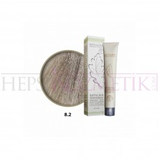 Natulika Organic Saç Boyası 8.2 Açık Küllü Kumral 60 Ml