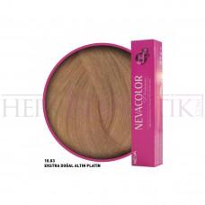 Nevacolor Premium Saç Boyası 10.03 Ekstra Doğal Altın Platin 50 Ml