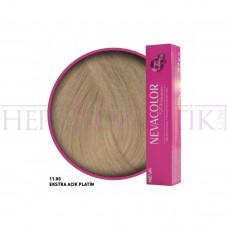 Nevacolor Premium Saç Boyası 11.00 Ekstra Açık Platin 50 Ml