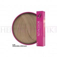 Nevacolor Premium Saç Boyası 12.00 Yoğun Doğal Süper Açıcı 50 Ml