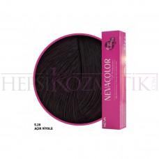 Nevacolor Premium Saç Boyası 5.20 Açık Viyole 50 Ml
