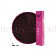 Nevacolor Premium Saç Boyası 5.66 Şarap Kızılı 50 Ml