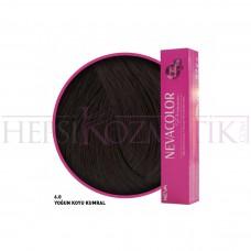 Nevacolor Premium Saç Boyası 6.0 Yoğun Koyu Kumral 50 Ml