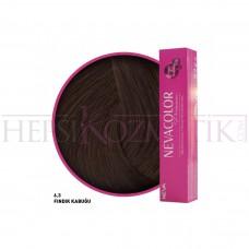 Nevacolor Premium Saç Boyası 6.3 Fındık Kabuğu 50 Ml